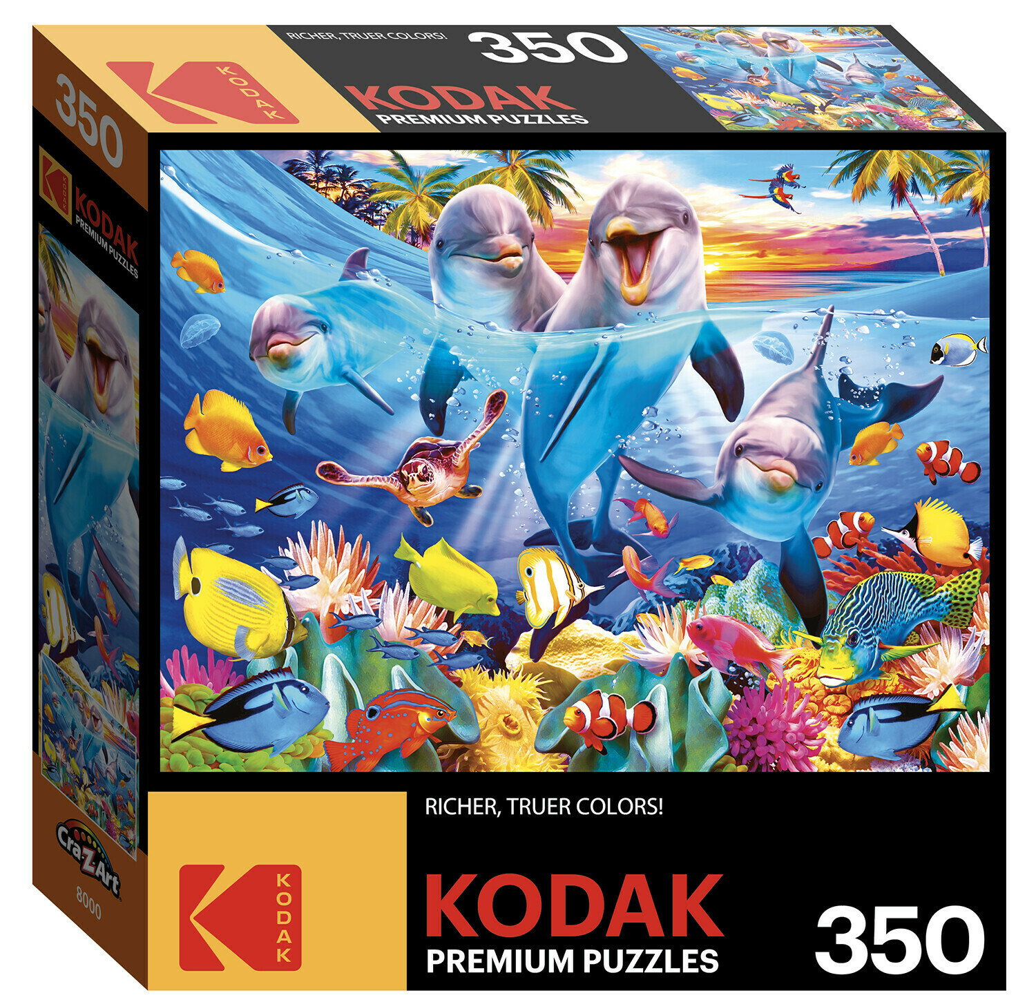 Playful Dolphins 350 Pc