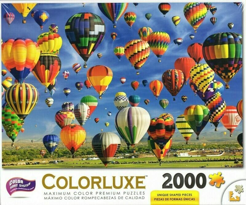 Hot Air Balloon Mass Ascension 2000 Pc