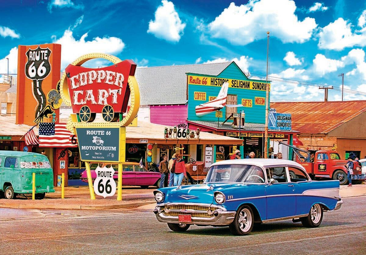 Seligman's, Route 66, AZ  550 Pc