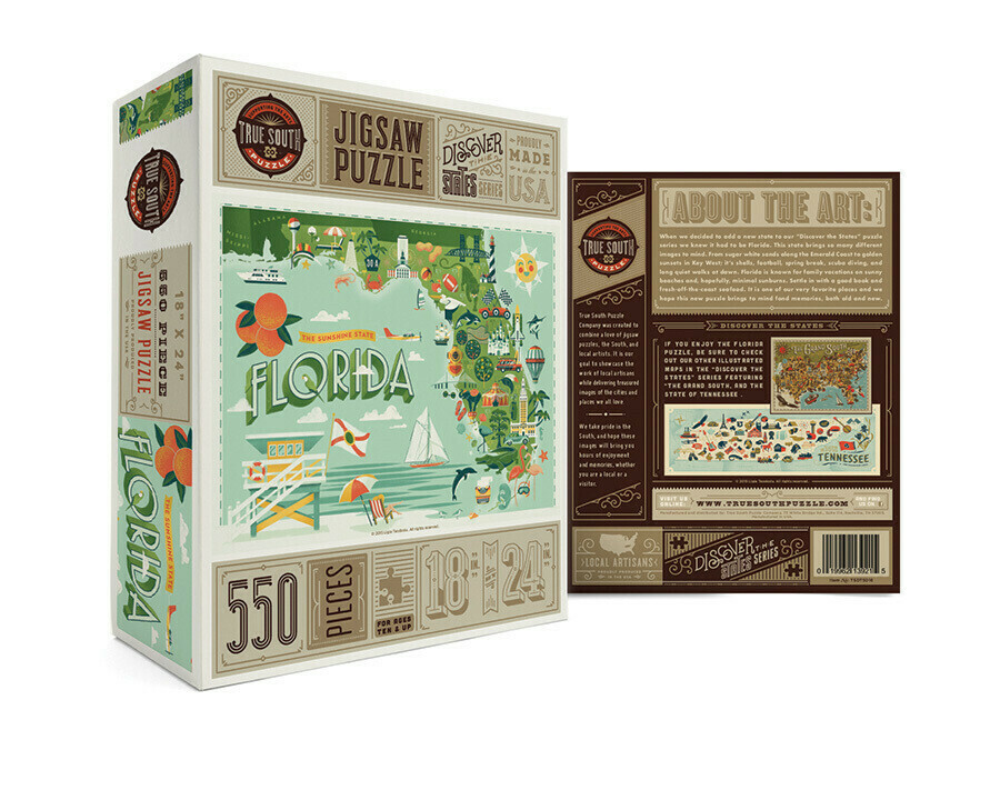 Florida The Sunshine State 500 Pc