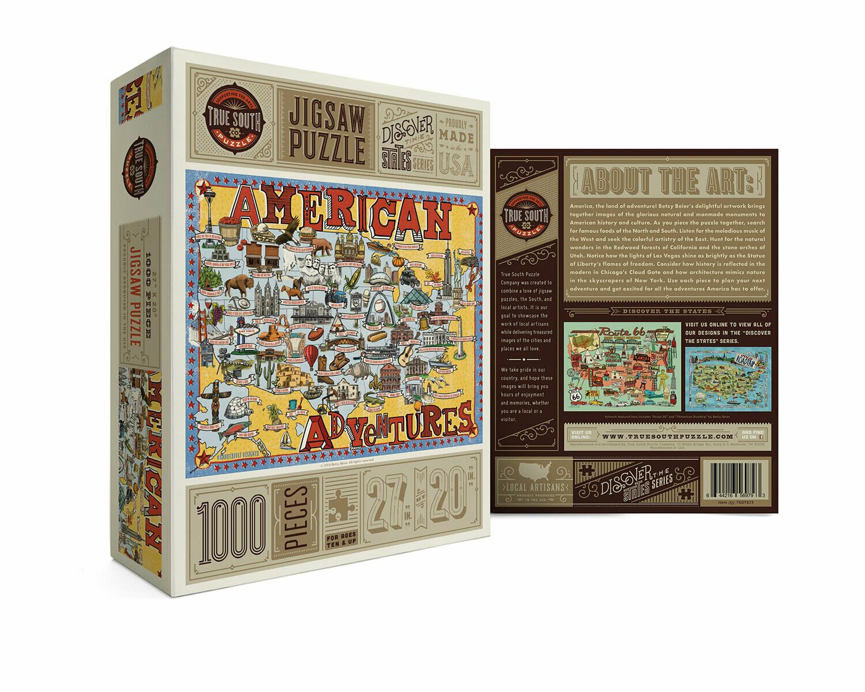 American Adventures 1000 Pc