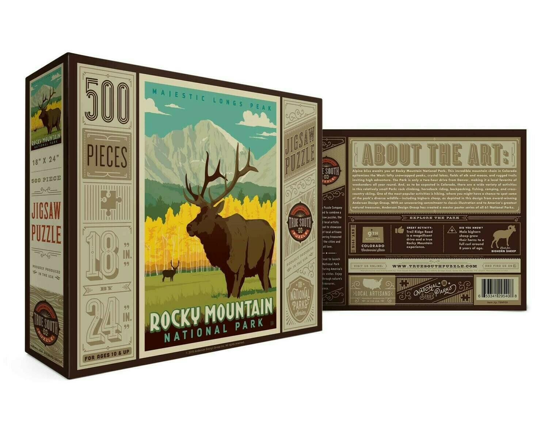 Rocky Mountain National Park 500 Pc