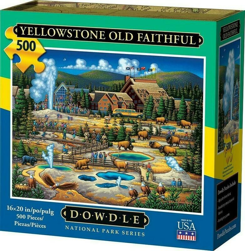 Yellowstone Old Faithful 500 Pc