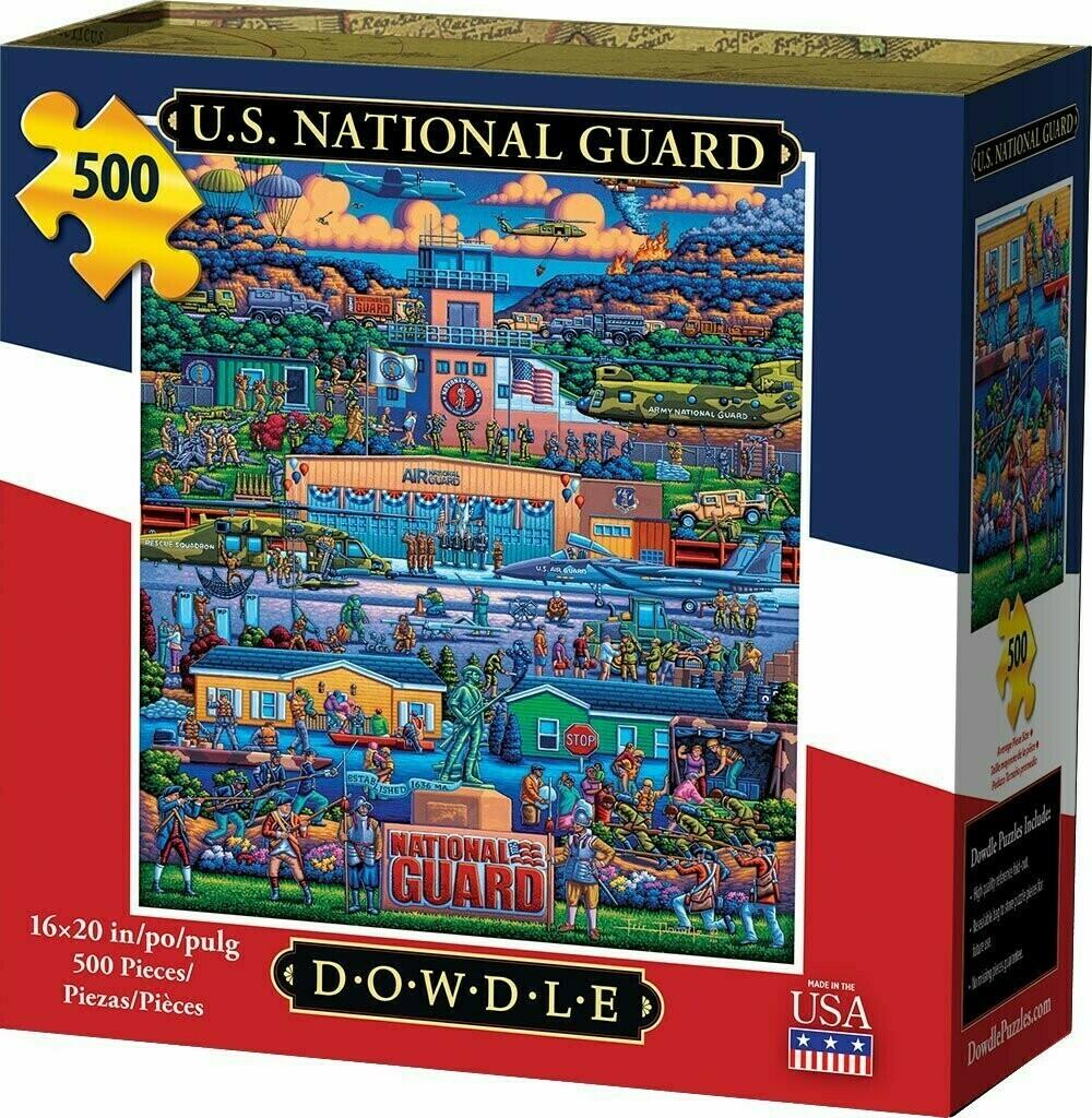 U S National Guard 500 Pc