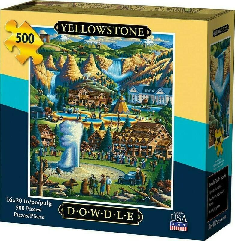 Yellowstone National Park 500 Pcs