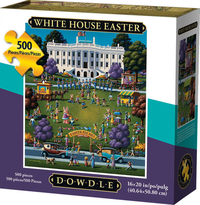 White House Easter 500 Pc