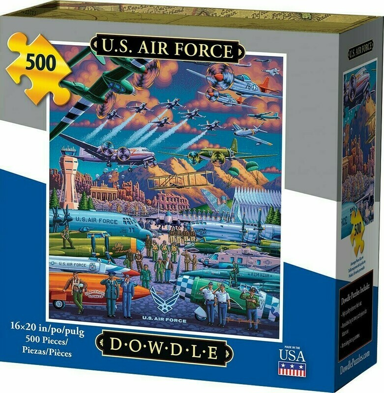 U S Air Force 500 Pc