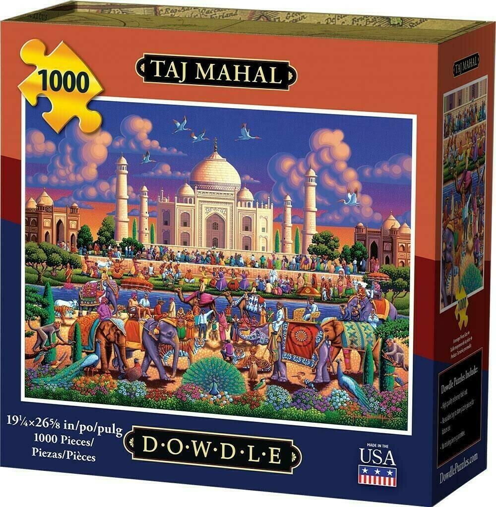 Taj Mahal 1000 Pc