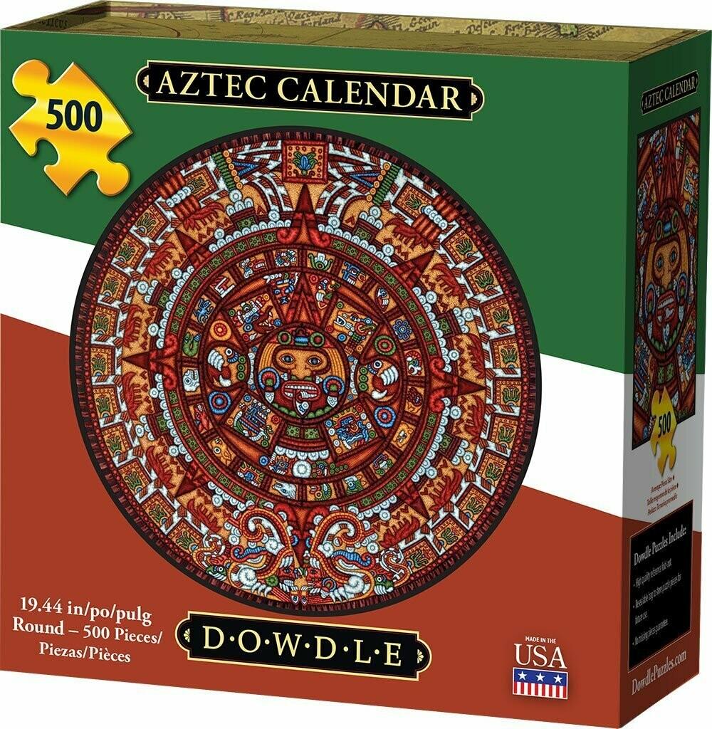 Aztec Calendar 500 Pcs