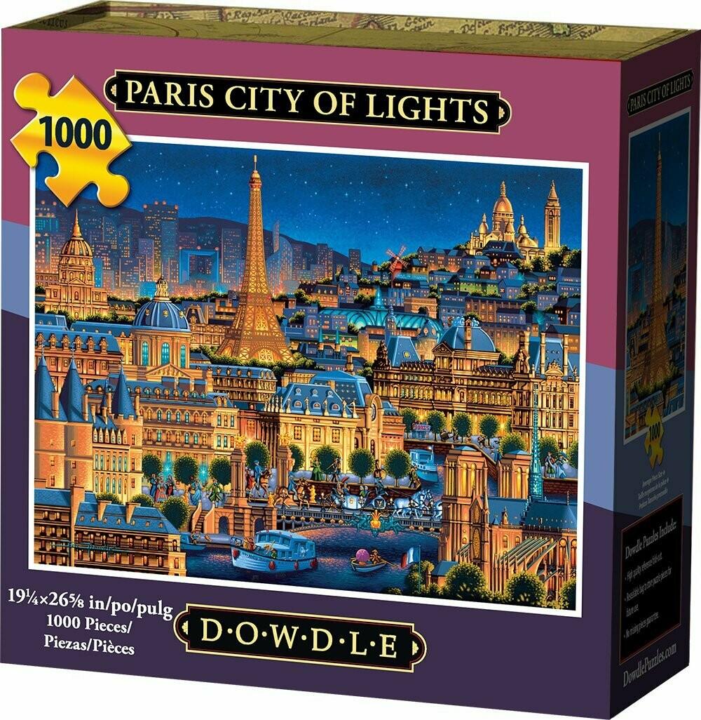 Paris City Of Lights 1000 Pc