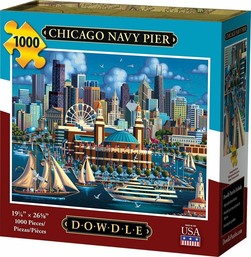 Chicago Navy Pier 1000 Pcs