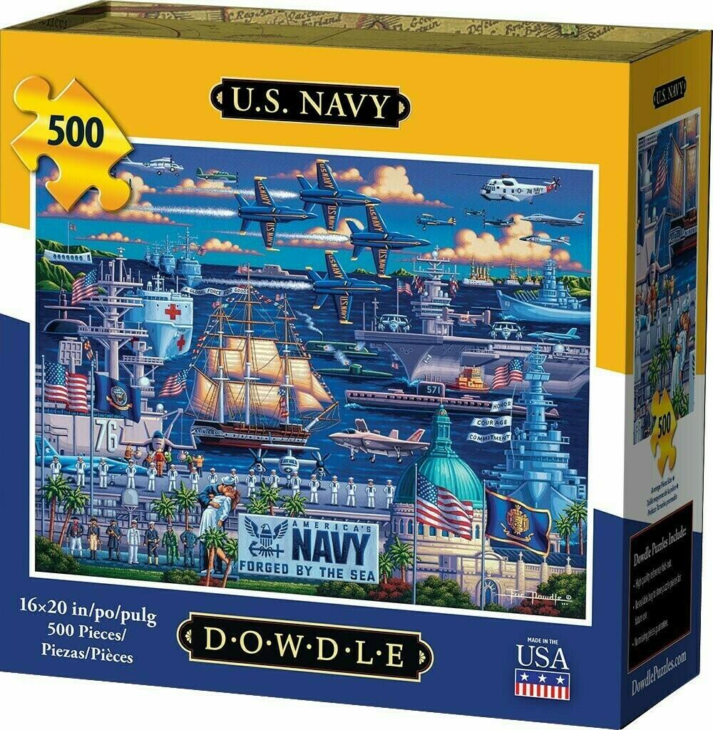 U S Navy 500 Pc