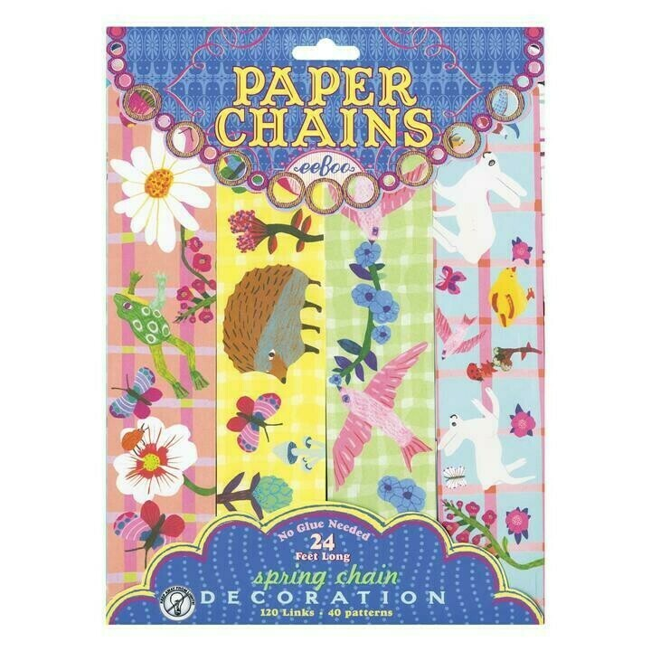 Paper Daisy Chain 24 Ft Long