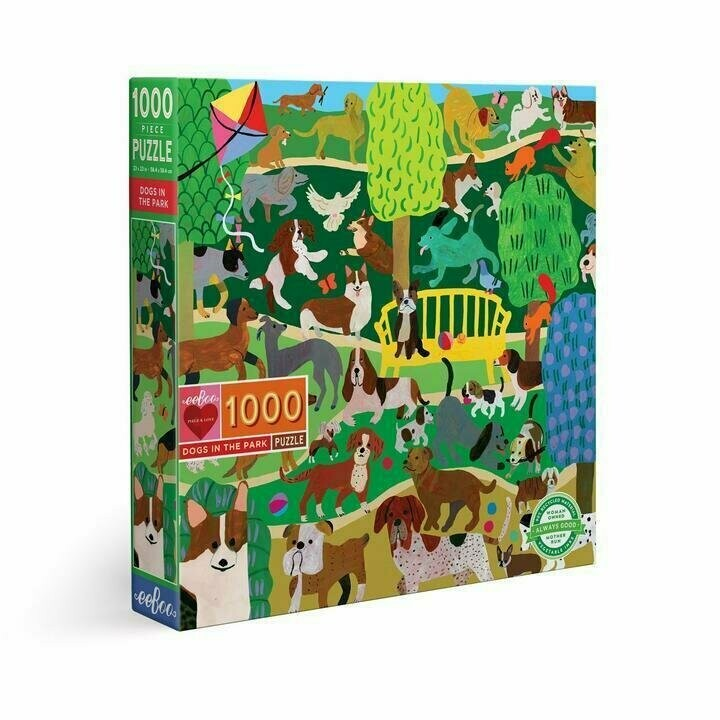 Dogs In The Park 1000 Pc