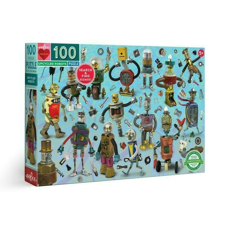 Upcycled Robots 100 Pc