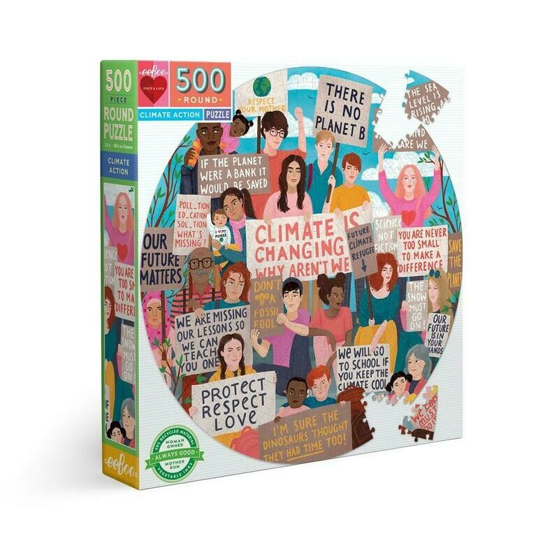 Climate Action 500 Pc Round