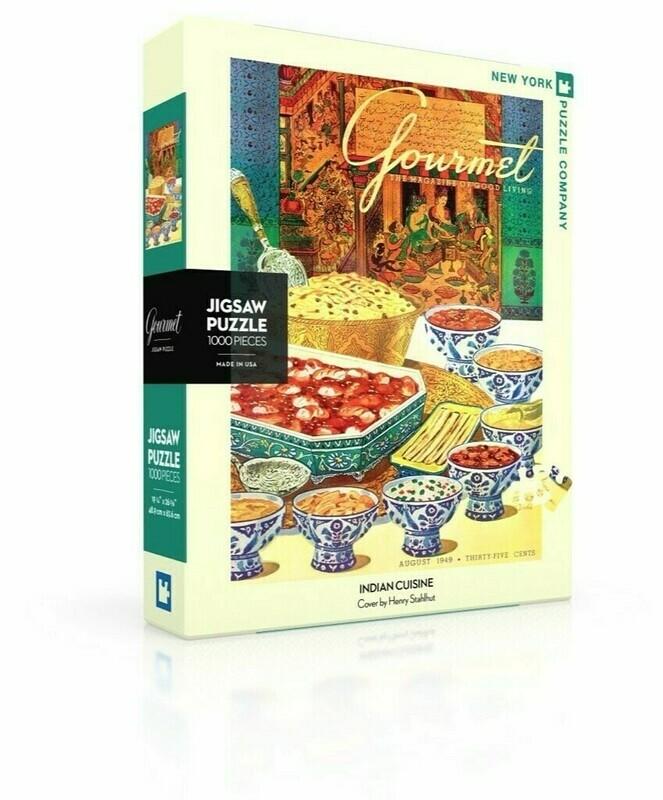 Indian Cuisine 1000 Pc