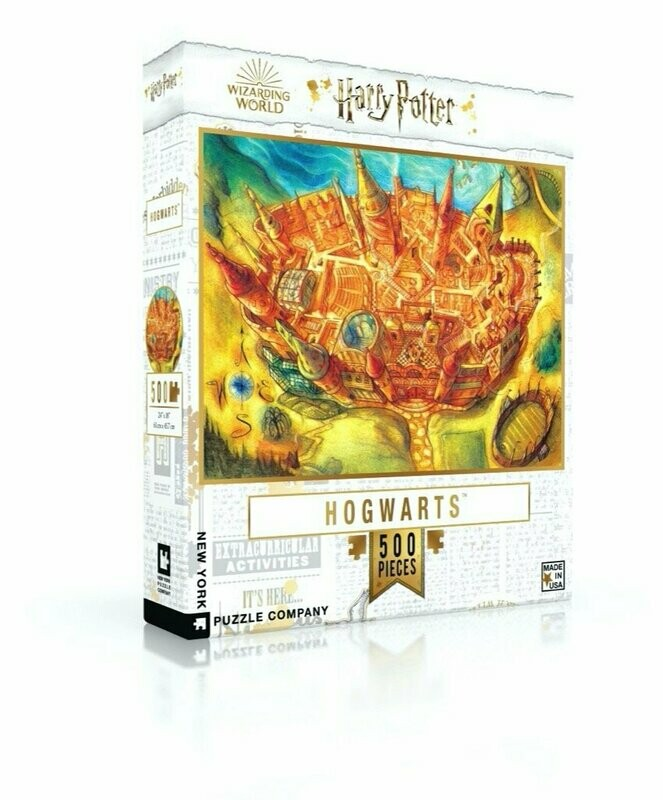 Harry Potter Hogwarts 500 Pc