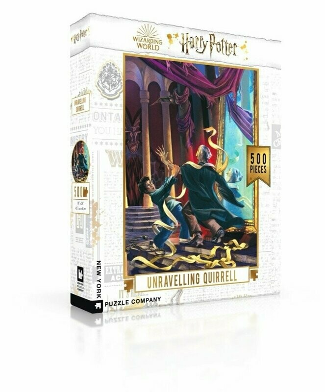 Harry Potter Unravelling Quirrell 500 Pc