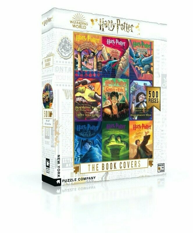Harry Potter The Book Covers 500 Pc