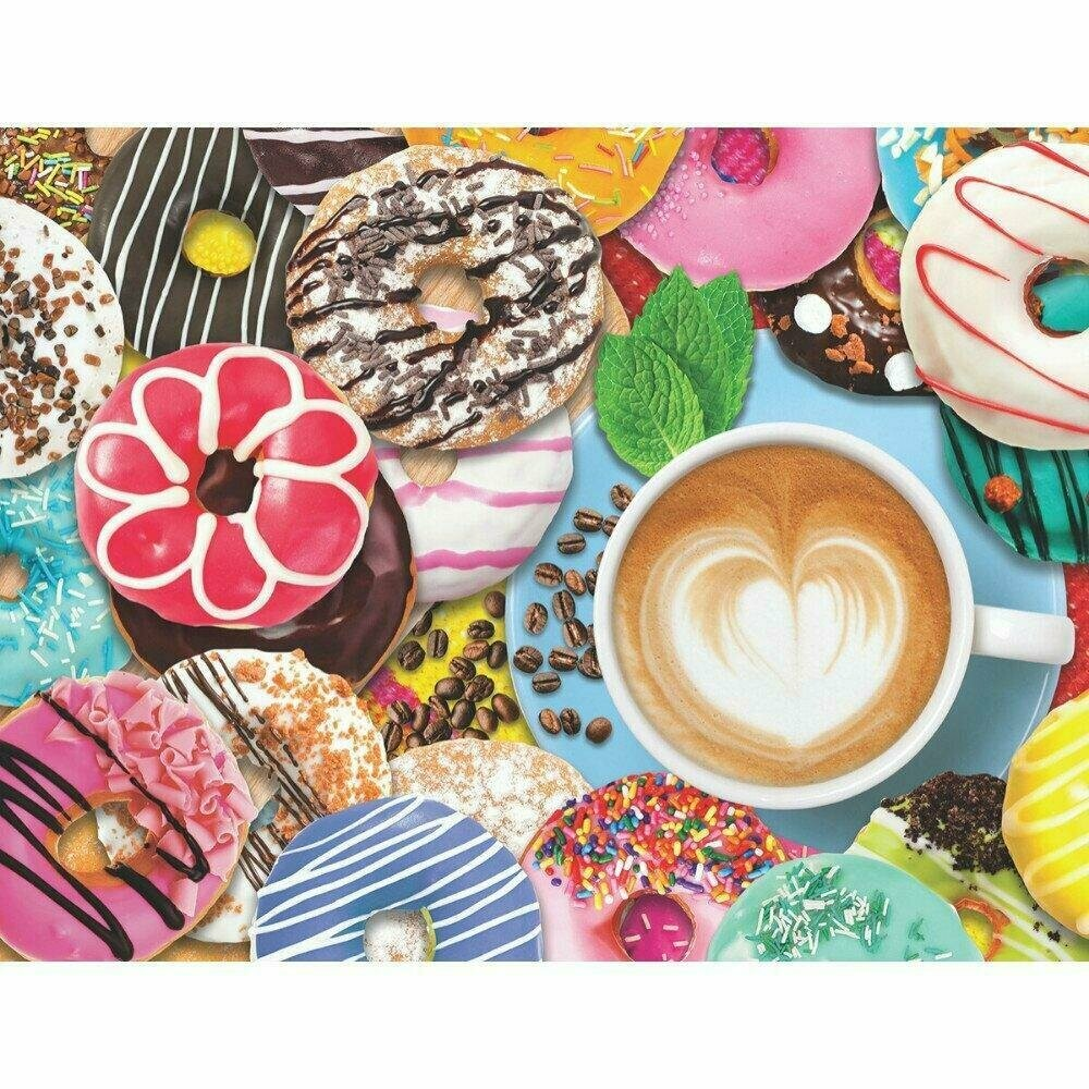 Donuts 'N Coffee 500 Pc