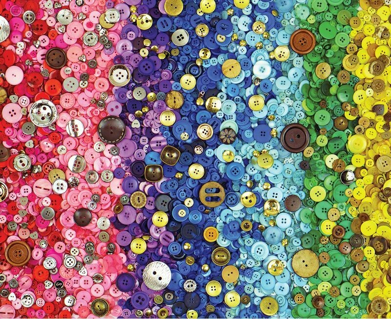 Bunches Of Buttons 1000 Pc