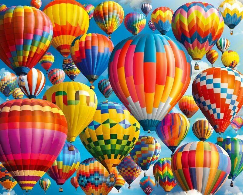 Balloon Fest 1000 Pc