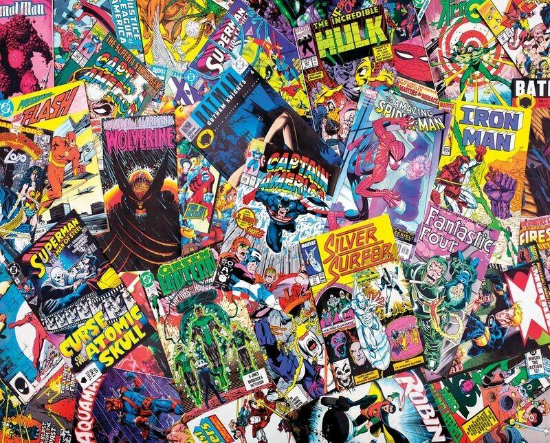 Comic Books Galore 1000 Pc
