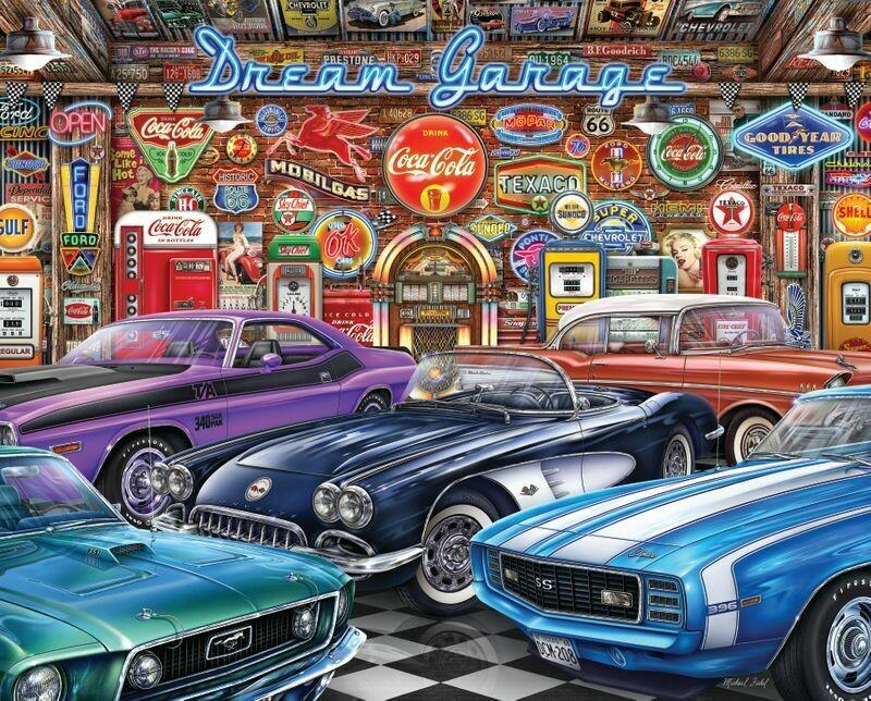 Dream Garage 1000 Pc