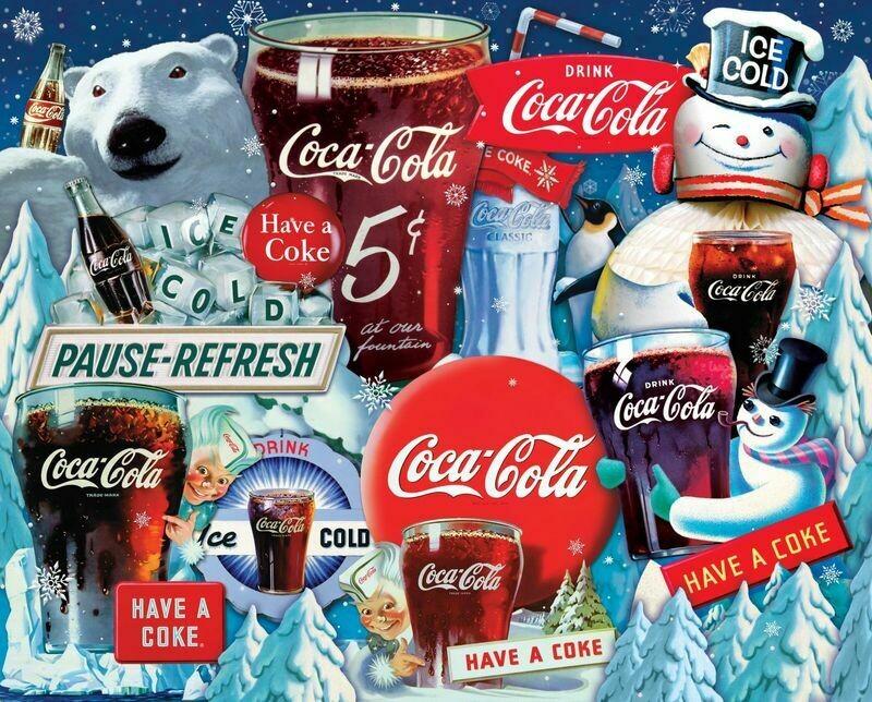 Ice Cold Christmas 1000 Pc