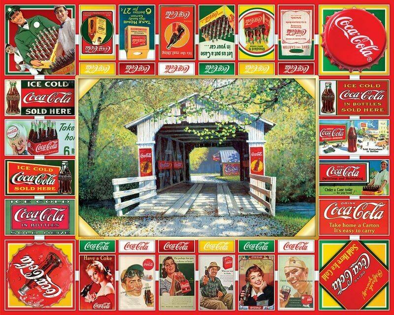 Gameboard Coke 1000 Pc