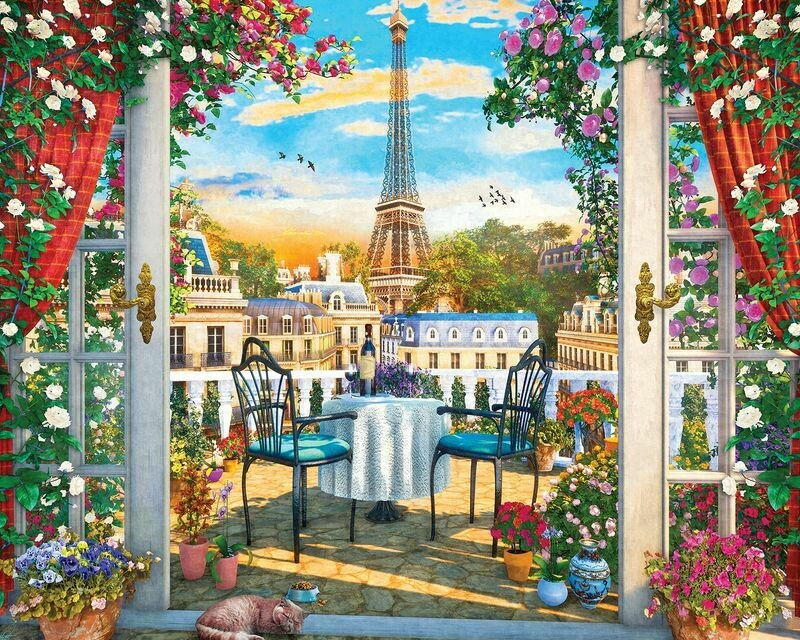 Luxurious Lookout 1000 Pc