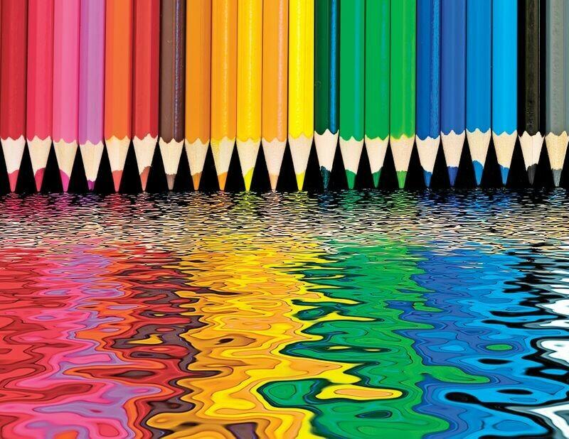 Pencil Pushers 1000 Pc
