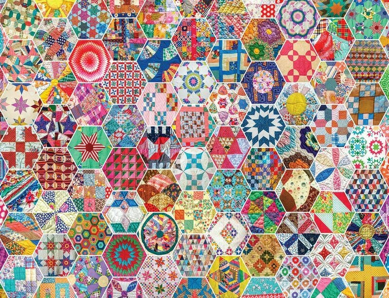 Crazy Quilts 500 Pc