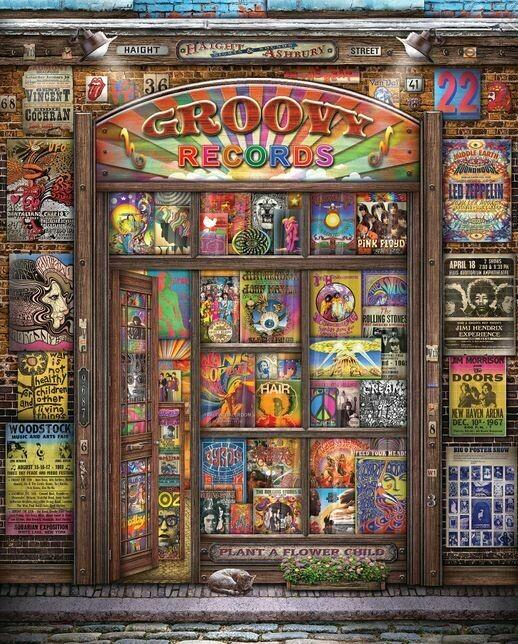 Groovy Records 1000 Pc