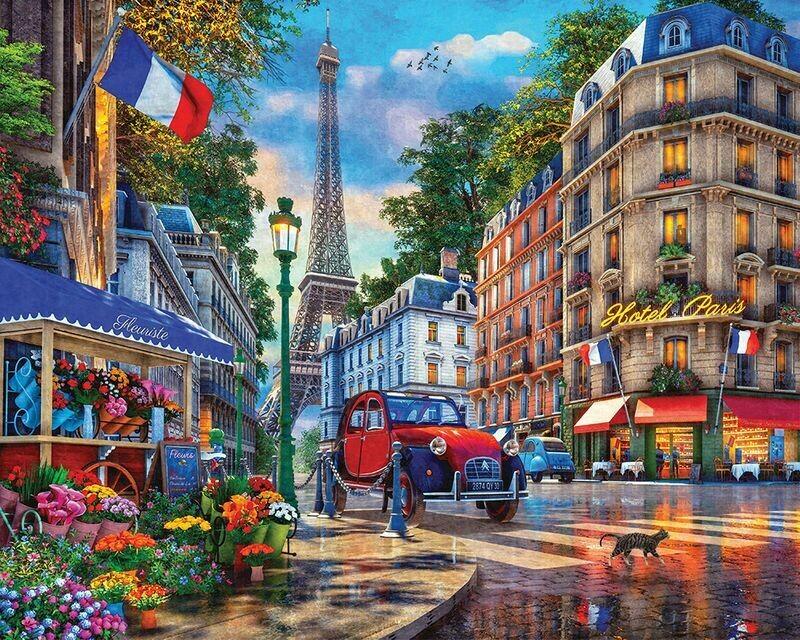 Paris Street Life 1000 Pc