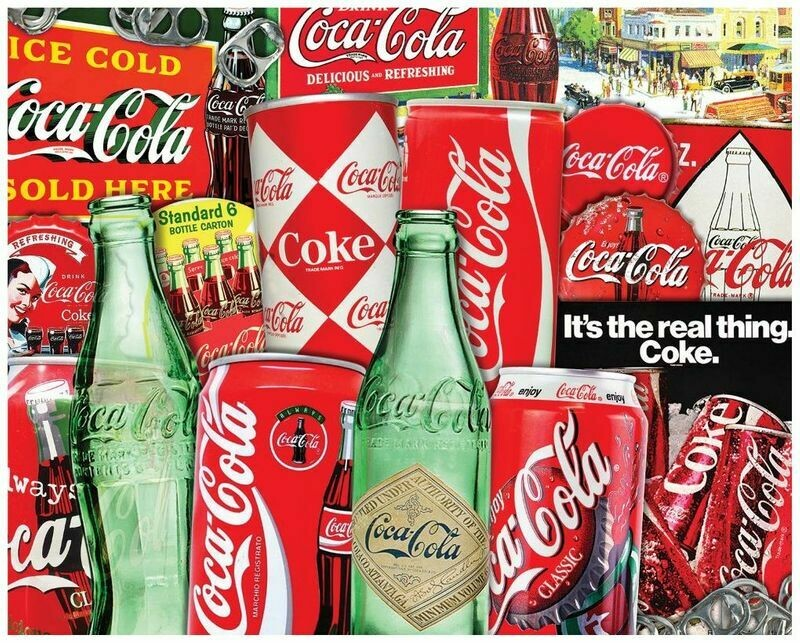 Vintage Soda Cans 1000 Pc