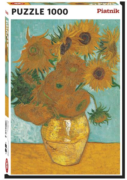 Van Gogh Sunflowers 1000 Pc