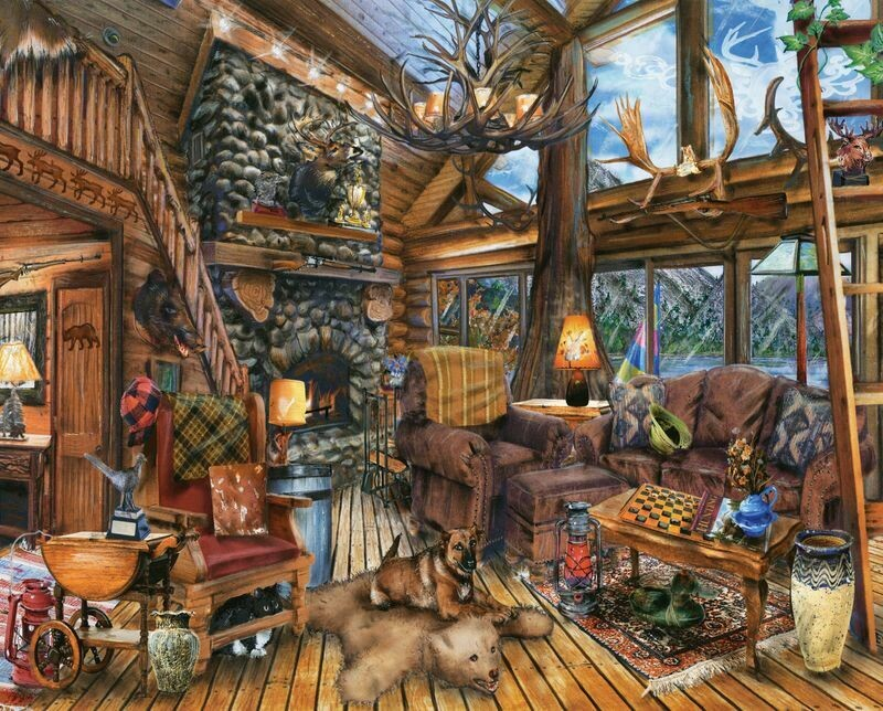 The Hunting Lodge 1000 Pc