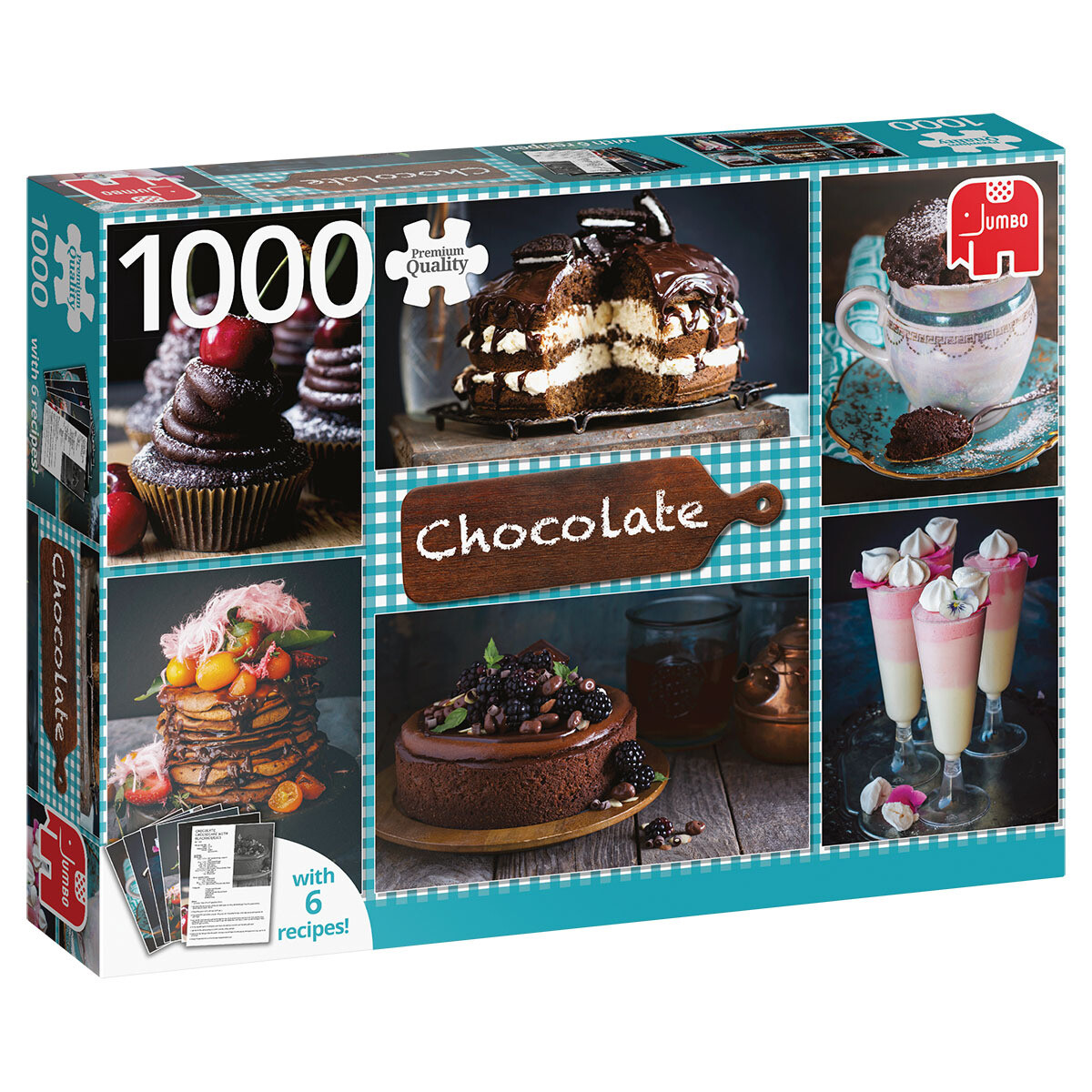 Chocolate 1000 Pc With Recipes