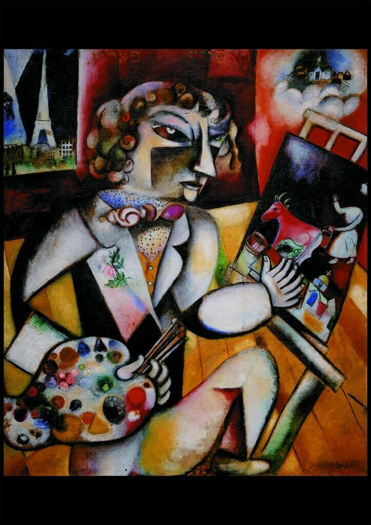 Chagall Self Portrait With Seven Fingers 1000 Pc