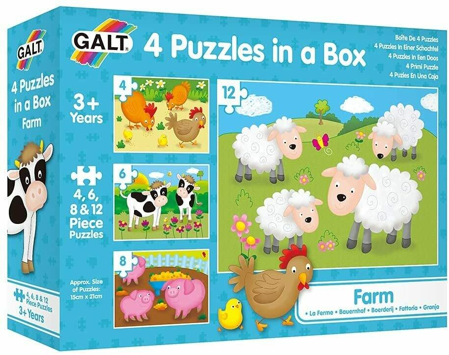 Farm 4 In Box 4, 6, 8, 12 Pc
