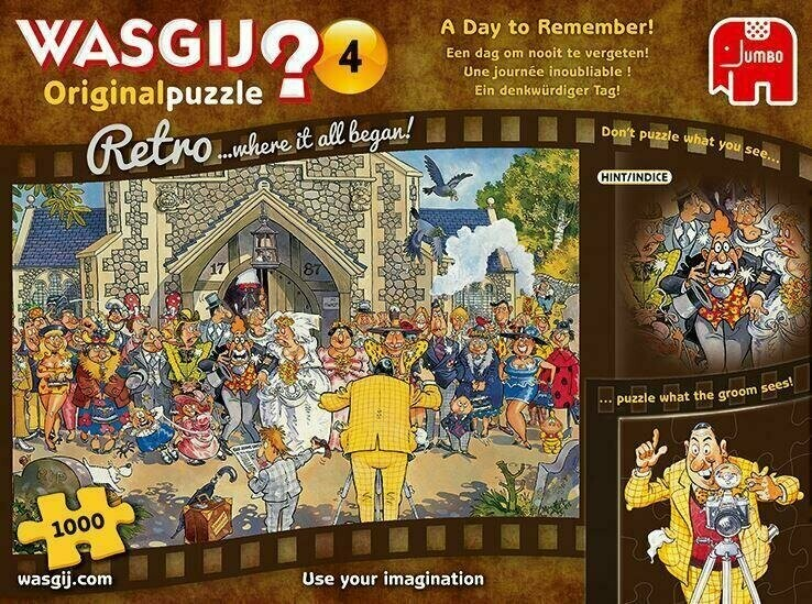 WASGIJ A Day To Remember  1000 Pc
