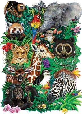 Safari Babies 350 Pc Family