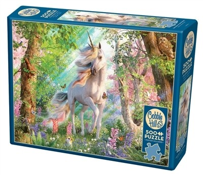 Unicorn In The Woods  500 Pc