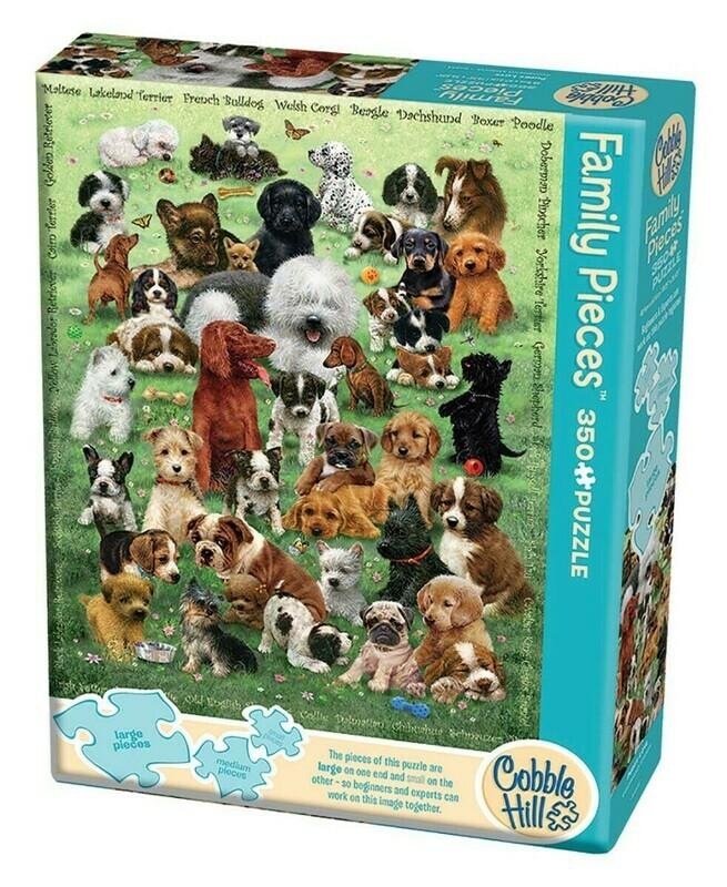 Puppy Love 350 Pc Family