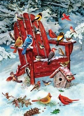 Adirondack Birds 1000 Pc