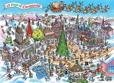 12 Days Of Christmas 1000 Pc