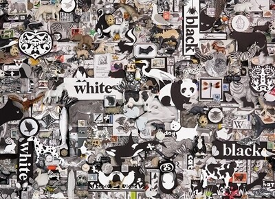 Black & White Animals 1000 Pc