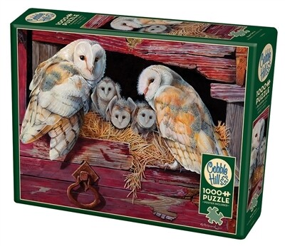 Barn Owls 1000 Pc